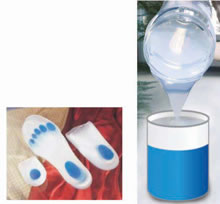 Silicone Rubber for Shock Absorption Purpose